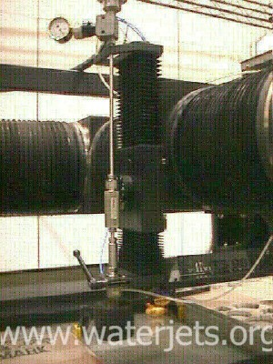 abrasive waterjet z-axis
