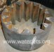 thick steel gear cut on waterjet