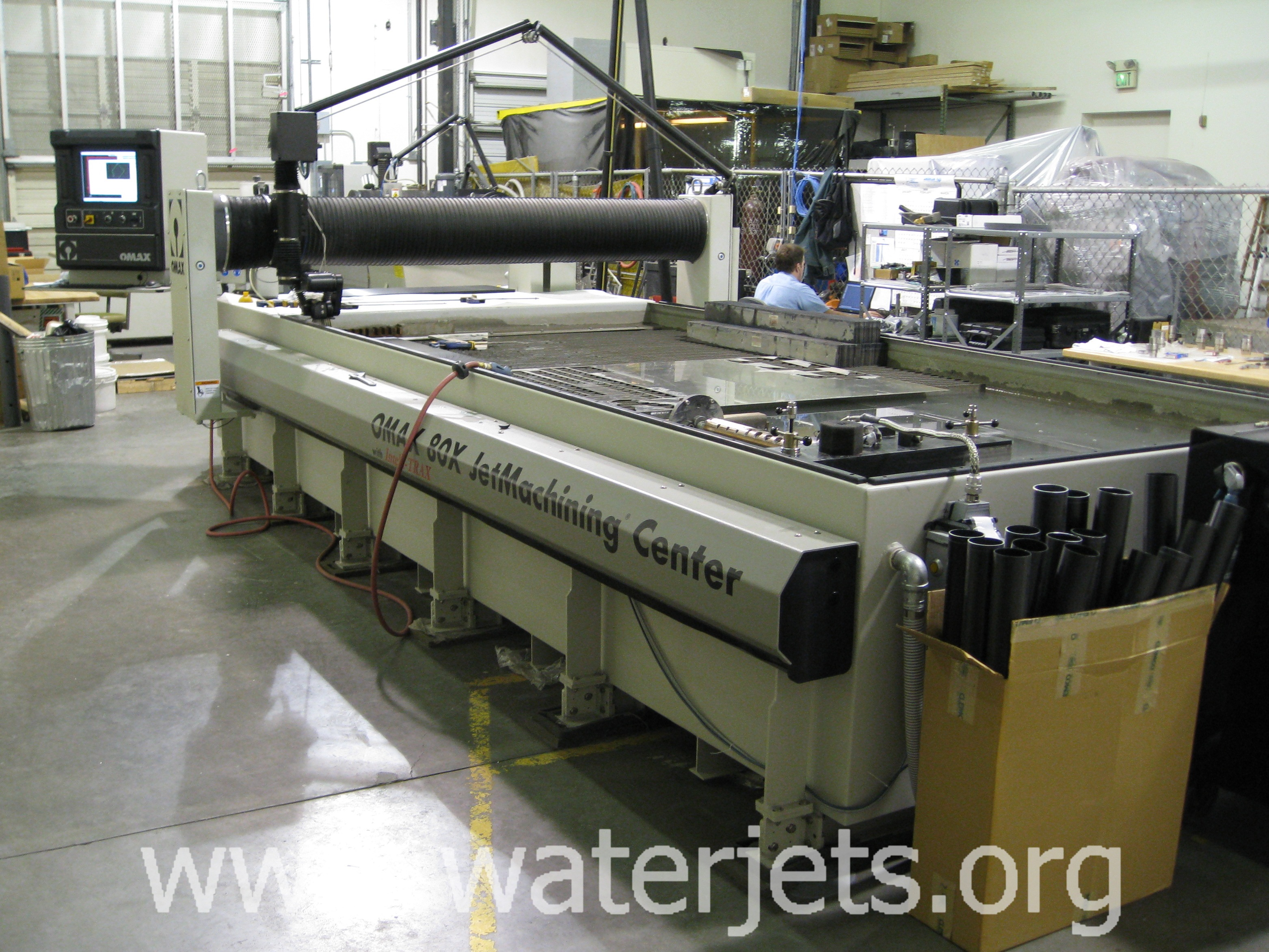 used waterjet machine