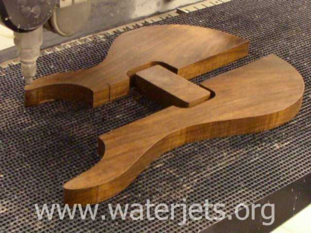 Wooden electric guitar – Waterjets.org