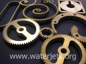 Waterjets make great and weird gears