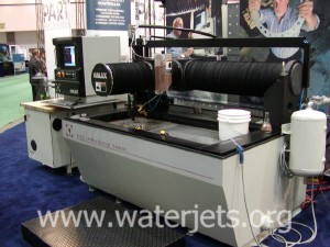 OMAX 2652 JetMachining® Center (Waterjet machining center)