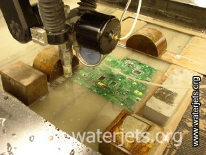 waterjet circuit board cutting